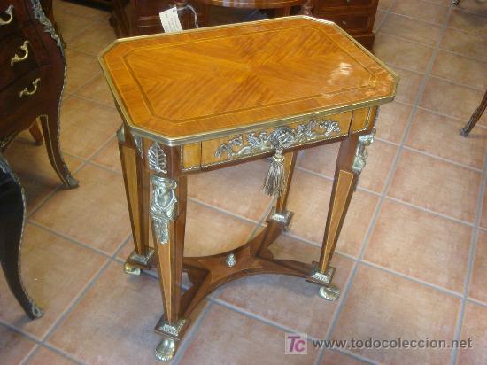 Mesa velador estilo imperio o napole n iii comprar mesas for Muebles estilo imperio