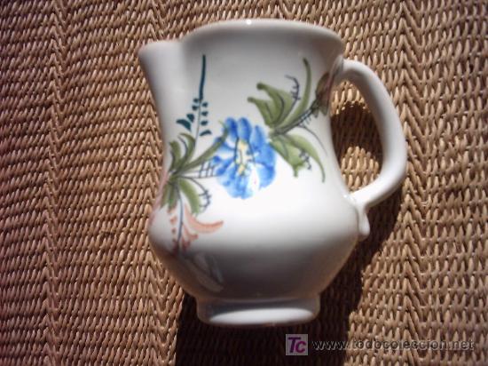 JARRA DE CERÁMICA DE LORCA (MURCIA). PINTADA Y FIRMADA POR LARIO. 12 X 12 CM. (Antigüedades - Porcelanas y Cerámicas - Lario)