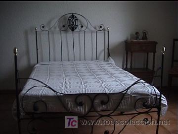 Cama hierro forjado antigua comprar camas antiguas en todocoleccion 26430253 - Camas de hierro antiguas ...