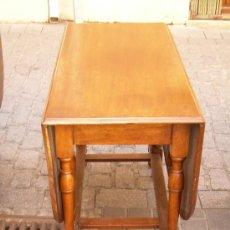Antigüedades: MESA INGLESA DE CAOBA. Lote 4958698