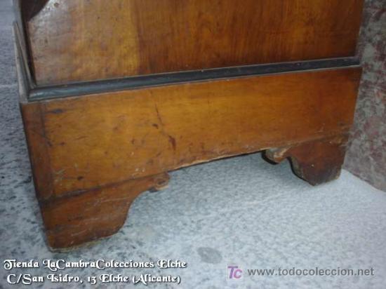 Antigüedades: COMODA EN NOGAL, CAOBA Y MARQUETERIA EN LIMONCILLO - Foto 12 - 26501631