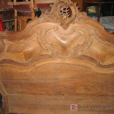 Antigüedades: ESPECTACULAR DORMITORIO FRANCES DE NOGAL. Lote 135438547