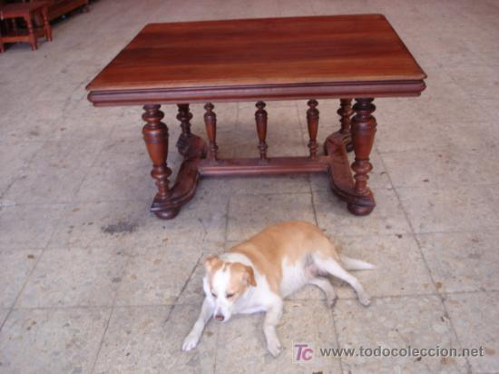Antigüedades: MESA DE NOGAL - Foto 2 - 26869460