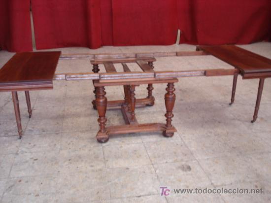 Antigüedades: MESA DE NOGAL - Foto 8 - 26869460