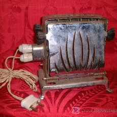 Antigüedades: TOSTADORA DE PAN ART NOUVEAU PP.SG.XX. ( 1920 -30 ) BELGIUM ( KALORIK ) 220V 550W. METAL-PORCELANA. . Lote 10605169