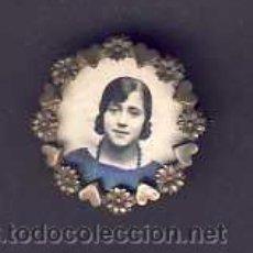 Antigüedades: BROCHE PORTAFOTOS (3 CMS DE DIÁMETRO). Lote 5147163