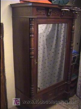 Armario ropero alfonsino comprar armarios antiguos en - Armarios roperos antiguos ...