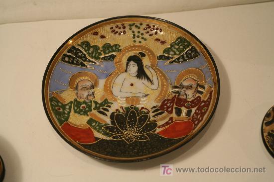 Antigüedades: juego de te japonés. 1930 aprox. - Foto 5 - 25427445