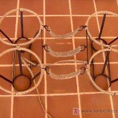 Antigüedades: MAGNIFICAS AGUADERAS DE HIERRO FORJADO.. Lote 25417075