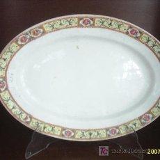 Antigüedades: FUENTE DE PORCELANA CHINA-OPACA. Lote 21338686