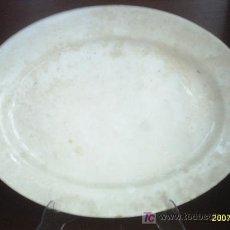 Antigüedades: FUENTE DE PORCELANA CHINA-OPACA SANTANDER. Lote 22091945