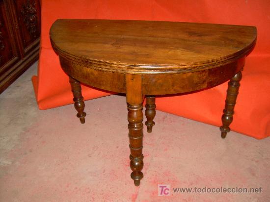MESA RINCONERA Y DE JUEGO (Antigüedades - Muebles Antiguos - Mesas Antiguas)