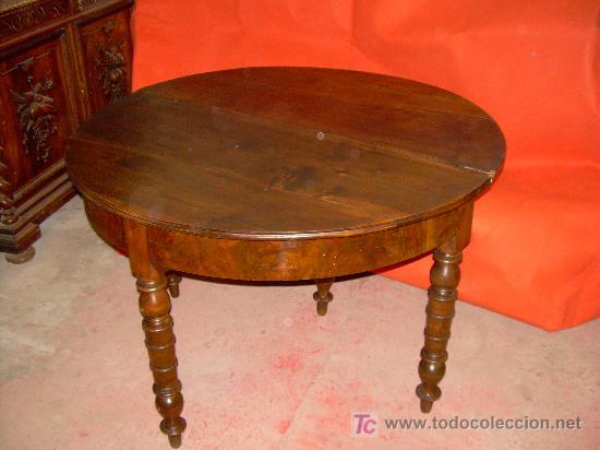 Antigüedades: MESA RINCONERA Y DE JUEGO - Foto 2 - 5432130