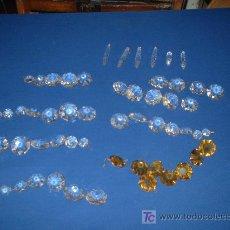 Antigüedades: CRISTALES DE LAMPARA. Lote 26310701