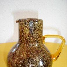 Antigüedades: JARRA DE CRISTAL DE MURANO DE BURBUJAS. Lote 5646659