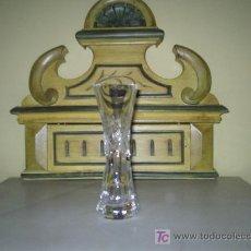 Antigüedades: VIOLETERO DE CRISTAL. Lote 22876859