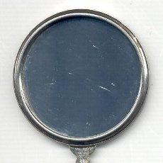Antigüedades: ESPEJO DE MANO ANTIGUO. 11,6X5,7 CM. VER EL DORSO EN FOTO ADICIONAL.. Lote 26767816