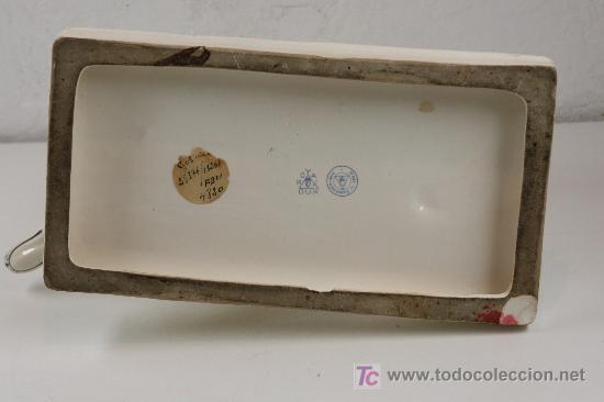 Antigüedades: figura en cerámica de perros. marcas en la base: ROYAL DUX. Made in czechoslovakia - Foto 4 - 23494274