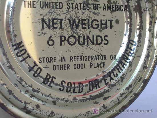 Bote de mantequilla de la ayuda americana a os comprar - Musica anos 50 americana ...