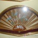 Antigüedades: ABANICO CON ABANIQUERA. Lote 26272245