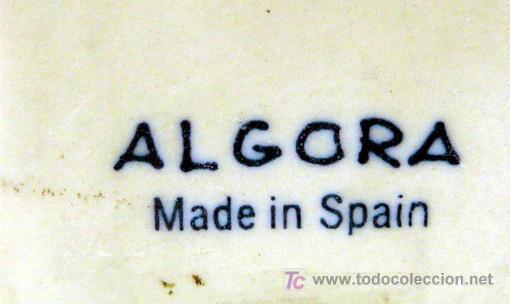 Antigüedades: ALGORA - BISCUIT DE PORCELANA , BASADA EN LOS CAPRICHOS DE GOYA - NI ASÍ LA DISTINGUE - S. XX - Foto 7 - 26266386