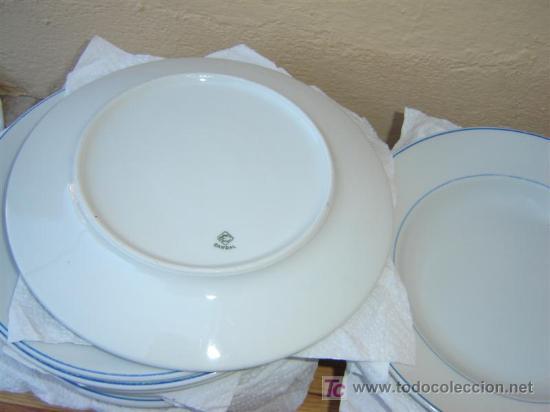 Antigüedades: Lote de platos Condal - Foto 2 - 6427061