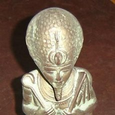 Antigüedades: ESCULTURA DE CERAMICA DIOS EGIPCIO BYRON - MEDIDAS 31*8*13 CMS.. Lote 23153980