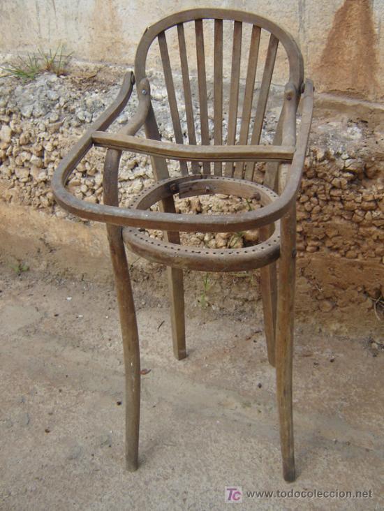 Antigua y preciosa trona para restaurar comprar sillas - Sillas para restaurar ...