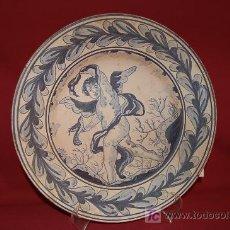Antigüedades: MAGNÍFICO PLATO CATALÁN PINTADO A MANO Y FIRMADO. Lote 6588294