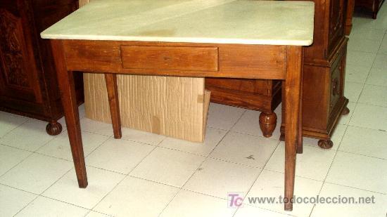 mesa rustica de cocina - Comprar Mesas Antiguas en todocoleccion ...