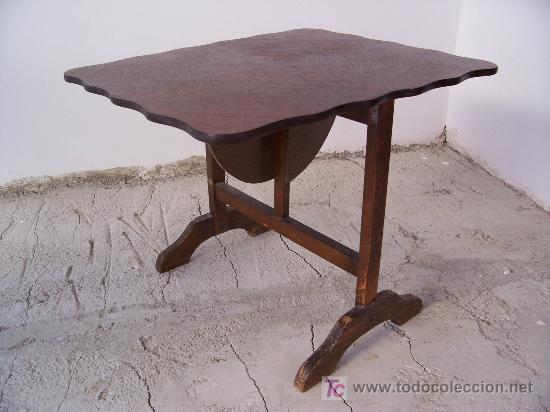 Pequena Mesa Plegable Mueble Auxiliar Ingles Vendido En Venta