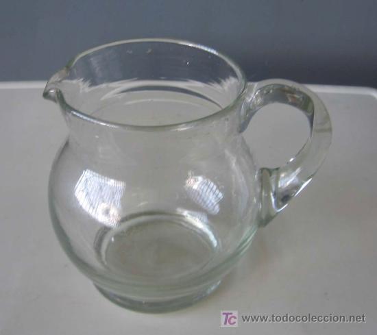 JARRA DE CRISTAL (Antigüedades - Cristal y Vidrio - Otros)
