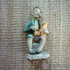 Antigüedades: ALFARERO. FIGURA DE BARRO MODELADO Y PINTADO. ARTESANIA SOVAL. 16 CM.. Lote 6741339
