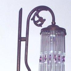 Antigüedades: LAMPARA DE MESA. Lote 27328065