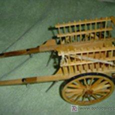 Antigüedades: CARRO DE MADERA. Lote 17953093