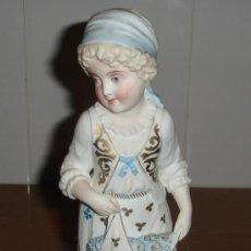 Antigüedades: FABULOSA FIGURA DE BISCUIT S.XIX. Lote 25087087