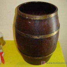 Antiguidades: BARRIL DE MADERA. Lote 7102732