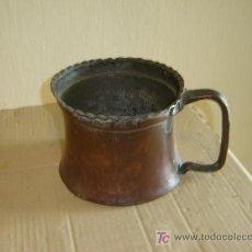 Antigüedades: JARRA DE COBRE ANTIGUA. Lote 7124227