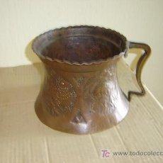 Antigüedades: JARRA DE COBRE ANTIGUA. Lote 7124254