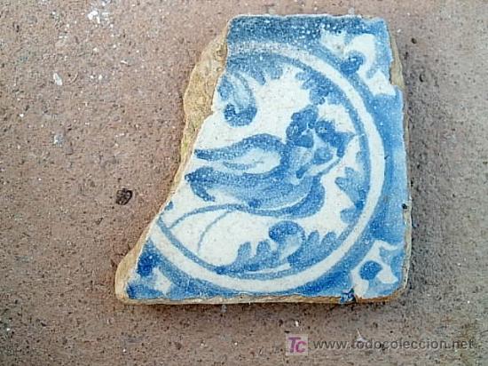 OLAMBRILLA DE TRIANA SIGLO XVIII (Antigüedades - Porcelanas y Cerámicas - Triana)