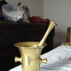 Antigüedades: MORTERO DE BRONCE. Lote 7174469