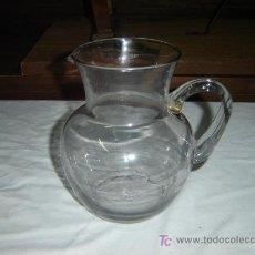 Antigüedades: JARRA DE CRISTAL SOPLADO. Lote 7196431