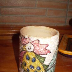 Antigüedades: ANTIGUA JARRA DE CERAMICA. TOLEDO.. Lote 27563374