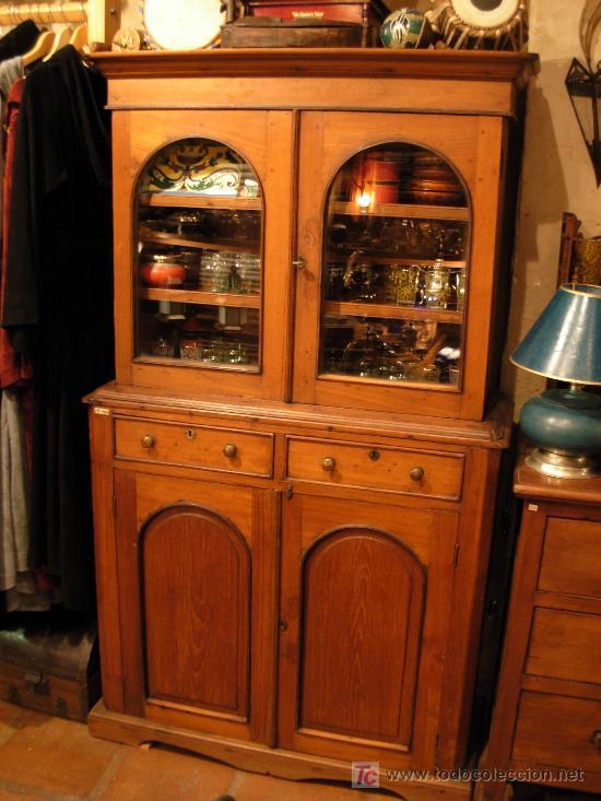 mueble de cocina finales siglo xix - Comprar Vitrinas Antiguas en ...