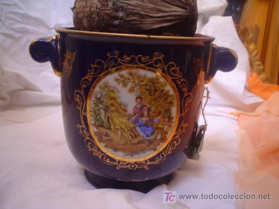MACETERO (Antigüedades - Porcelanas y Cerámicas - Otras)