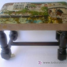 Antigüedades: BANQUETA. Lote 27090890