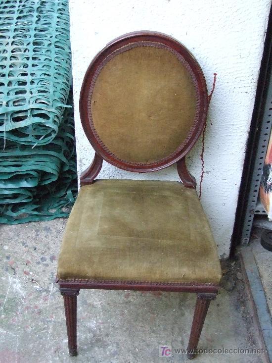 Silla de caoba para restaurar comprar sillas antiguas en - Restaurar sillas antiguas ...