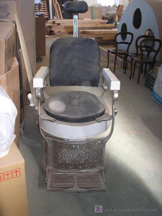 Antiguo sillon de barbero comprar sillones antiguos en for Sillones clasicos antiguos