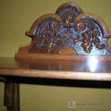 Antigüedades: ANTIGUA REPISA EN MADERA. Lote 27324684