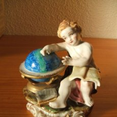 Antigüedades: 2ª ALEGORIA DE LA ASTRONOMIA. MANISES HISPANIA DEL 1943. Lote 121427774